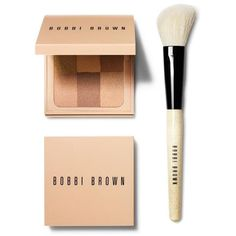 Bobbi Brown Nude Finish Illuminating Powder ($56) ❤ liked on Polyvore featuring beauty products, makeup, face makeup, face powder, filler, bobbi brown cosmetics and illuminating face powder