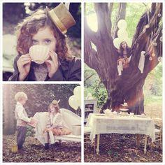 Vintage Tea Party for Two with Such Cute Ideas via Kara's Party Ideas KarasPartyIdeas.com #teaparty #vintageparty #partydecor #partyideas (1...