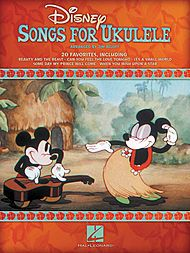 Disney Songs for Ukulele sheet music- love this book. Wish they would make more of these.