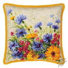 Moorish Lawn Cushion - Cross Stitch Kits by RIOLIS - 1413