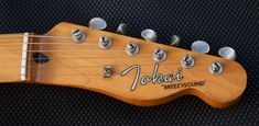 The Tokai name appears in various and sundry forms of type or script, or font. Telecaster Thinline, Fender Guitars, In Law Suite, Recherche Google, Cool Things To Make, Music Instruments, Entertaining, Script, Logo