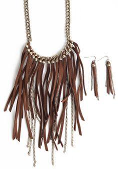 Choctaw Spirit Bib Necklace #fashion #threadsence