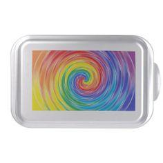 Spinning Rainbow Cake Pan