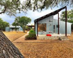 by Nick Deaver Architect Absolutely love this look.  Replace galvanized with majority hardi.  Love outbuilding