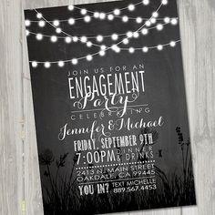 Engagement Invitation Engagement Invite Engagement by partymonkey