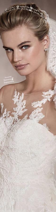 Pronovias Pronovias Bridal, Bridal Gowns, Wedding Dresses, Dream Wedding, Wedding Day, Wedding White, Black Tie Affair, Tiaras And Crowns, Wedding Season