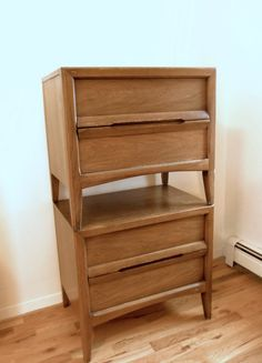 Mid Century Nightstands Basic Witz End Tables by FreewheelFinds