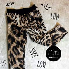 Leggins leopardo