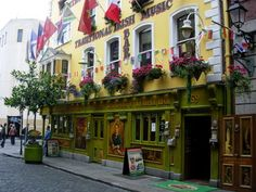My favorite place to stay in Dublin.  Connected tot he Restaurant/Pub is the Hostel.....with private rooms its an awesome bargain right in the Temple Bar