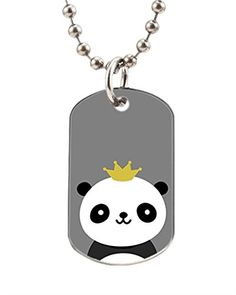 Lincoln Gore Personalized Pet Tag Panda Pet ID Tag Customized Pet ID Tags Dogs Cat ID Tags *** Be sure to check out this awesome product. (Note:Amazon affiliate link)