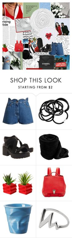 """you're the thing that i can't quit"" by same-sunset ❤ liked on Polyvore featuring Chanel, Valentino, H&M, Vagabond, Polaroid, Proenza Schouler, Revol, comments and nicolewantstoseethis"