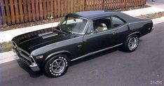 69 Nova Super Sport. My dream car. It is my goal to build one from the frame up! #chevyclassiccars