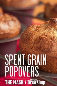 Recipe: Spent Grain Popovers