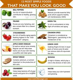 Foods That Make You look Good #health #Nature For More: www.livealittlelonger.com