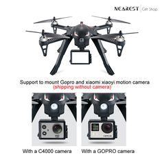 Kedior MJX B3 Bugs 3 RC Quadcopter Drone with Camera Mounts for Camera & GoPro Camera. For your better experience, B3 Bugs has equipped with camera holder which supports to mount 5.8G C5820/C4022/C4020 camera /GoPro/xiaoyi/xiaomi motion camera  #drones #dronestagram  #dronephotography #dronefly #dronegear #aerial #photography #aerialphotography #travelblog  #kedior