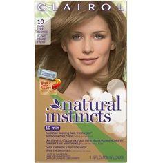 Clairol Natural Instincts Hair Color 10 Sandalwood Dark Cool Blonde Nib Lot Of 7 Ebay