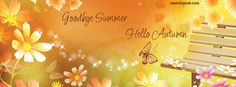 Goodbye Summer Hello Autumn facebook cover CoverLayout.com