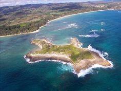 Goat's Island & Malaekahana beach   Near our Oahu Vacation rental at Turtle Bay.  Laie Hawaii