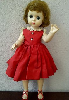 Vintage LISSY Madame Alexander Doll with by maggiecastillo on Etsy, $176.00