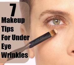 7 Makeup Tips For Under Eye Wrinkles