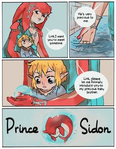 Video game memes 829999406306923392 - *does from cuteness* Source by The Legend Of Zelda, Legend Of Zelda Memes, Legend Of Zelda Breath, Pokemon, Sidon Zelda, Prince Sidon, Botw Zelda, Link Zelda, Link And Zelda Kiss