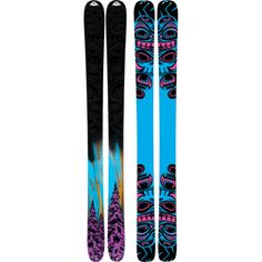 K2 obSethed skis - I have wanted these since last year! Purely for the top sheet design. ;-)