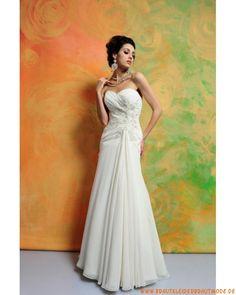 Romantische Brautkleider aus Chiffon München kaufen online