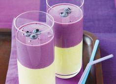 Lait frappé à l'avocat et aux bleuets sauvages - 9 recettes de smoothies santé pour stimuler votre entraînement