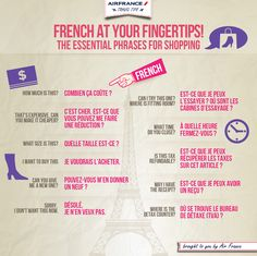 French phrase for #shopping
