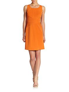 Z Spoke by Zac Posen Seamed A-Line Dress