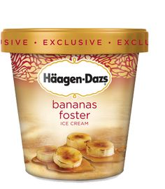 Haagen-Dazs Bananas Foster Ice Cream. 7/23/14: I loved this, but everyone else in the family was meh about it