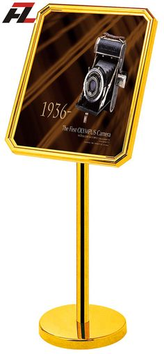High Quality Advertisement Sign Holder Stand -Display Stands