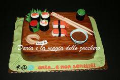 #Sushi cake #Torta sushi#