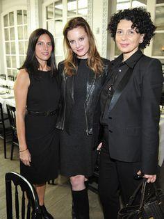 Blair Kohan, Ina Treciokas and Donna Langley