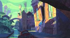 Visual Development from Monsters Inc