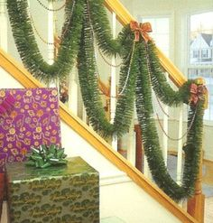 Artificial Christmas Garland - 9 ft. by Gordon Companies, Inc. $15.00. This product may be prohibited inbound shipment to your destination.. Shipping Weight: 0.75 lbs. Brand Name: Gordon Companies, Inc Mfg#: 30664072. Please refer to SKU# ATR25758971 when you inquire.. Picture may wrongfully represent. Please read title and description thoroughly.. Artificial Christmas garland/not lit/two-tone green/inside use/5 ply/9'L x 4''W/made of PVC/bows and beads not included