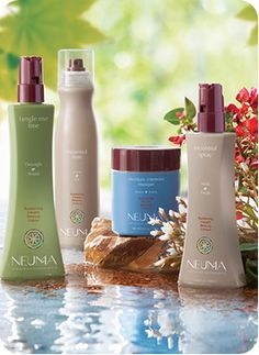 Neuma hair care. Organic, gluten-free and no synthetic fragrances.  Environmentally friendly company!  FABULOUS for your hair :)
