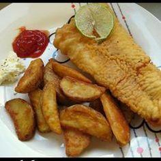 Classic Fish and Chips Allrecipes.com