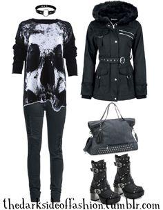 My grunge fashion : Photo Egirl Fashion, Dark Fashion, Grunge Fashion, Fashion Photo, Tv Show Outfits, Punk Outfits, Gothic Glam, Alternative Fashion, Cute Art