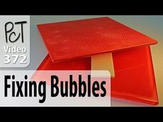 How To Fix Bubbles That Show Up in Flat Polymer (Baked) Pieces - YouTube