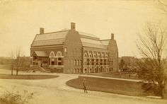 The Metropolitan Museum of Art, designed by Calvert Vaux and Jacob Wrey Mould.  Ca. 1880.  NYHS Image #1022.