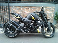 motorcycles-and-more: Yamaha FZ 16 Custom 12 February 2016 Yamaha Fz 150, Yamaha Fz Bike, Yamaha Motorbikes, Yamaha Motorcycles, Yamaha Sport, India Moto, Bike India, Street Fighter Motorcycle, Motorcycle Bike
