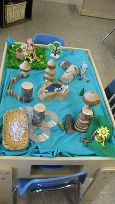 fairy garden Nelson Nelson Pearson love this for the tuff tray x Sensory Bins, Sensory Activities, Sensory Play, Activities For Kids, Sensory Table, Reggio Classroom, Classroom Ideas, Tuff Spot, Tuff Tray