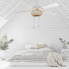 Ceiling Fan Chandelier, White Ceiling Fan, Wooden Chandelier, Ceiling Lights, Coastal Ceiling Fan, Living Room Ceiling Fan, Ceiling Fan Light Kits, Bedroom Ceiling Fans, Elegant Ceiling Fan
