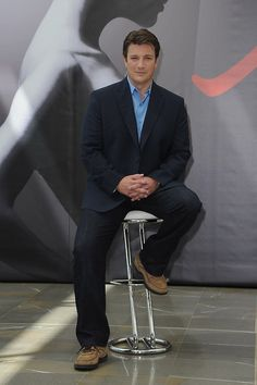 Photo of Castle's Nathan Fillion Kicks Back at the Monte Carlo TV Festival for fans of Castle 31139068 Castle Series, Castle Tv Shows, Nathan Fillon, Richard Castle, Castle Beckett, Stana Katic, Geek Culture, Celebs, Celebrities