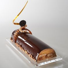 Denmark's chocolate entremets in the Pastry World Cup 2013
