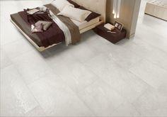 [ Younhyun Tile / 윤현상재 타일 ] Exposed Concrete Style Tile : Chambord White / Size (cm) : 60.5X60.5 , 60X90