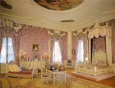 Alva Vanderbilt's Bedroom: Gilded Ages Ago | New York Social Diary