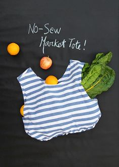 Recycle Your T-Shirt into a Reusable Grocery Bag