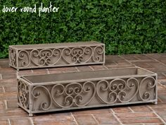 Architecture Contemporary Metal Planter Boxes With Regard To Dover Box Set Of 2 Iron Planters Pots Designs 15 6 X Area Rugs 25 Bathroom Vanity Small White Desks Wall Mounted Mirror Modern Wood Beds Metal Planter Boxes, Garden Planter Boxes, Window Planters, Planter Pots, Wrought Iron Window Boxes, Modern Wood Bed, Fall Window Boxes, Rectangular Planters, Iron Windows